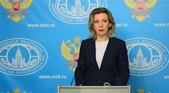 المتحدثة باسم الوزارة الروسية ماريا زاخاروفا (أرشيف)