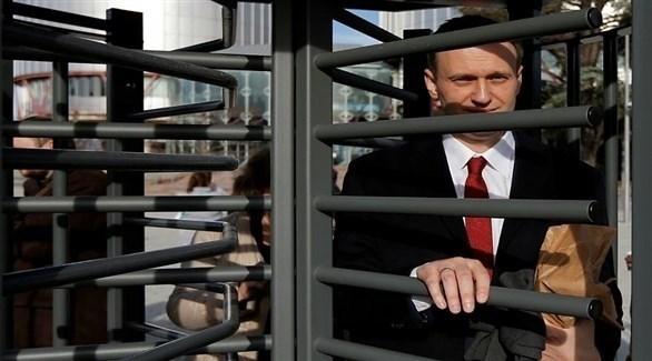 زعيم المعارضة الروسية أليكسي نافالني (أرشيف)