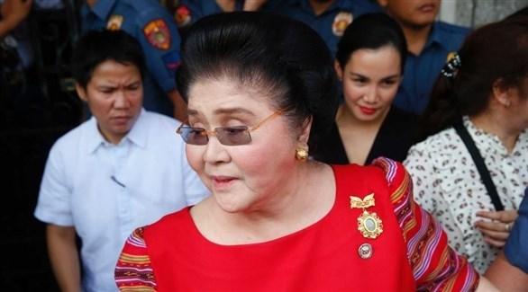سيدة الفلبين الأولى سابقاً إيميلدا ماركوس (أرشيف)