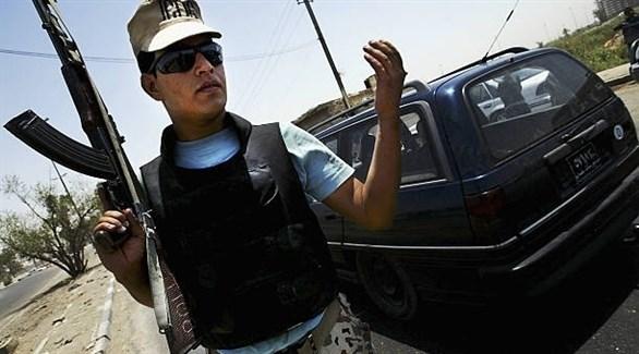 رجل أمن عراقي (أرشيف)