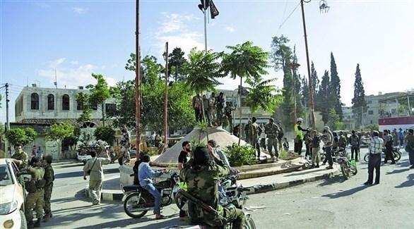مجموعة من المسلحين في سوريا (أرشيف)