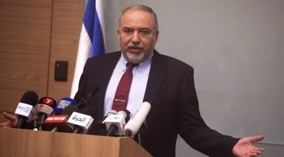 وزير الدفاع الإسرائيلي المستقيل أفيغدور ليبرمان (أرشيف)