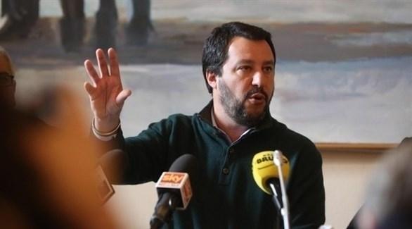 وزير الداخلية الإيطالي، ماثيو سالفيني (أرشيف)