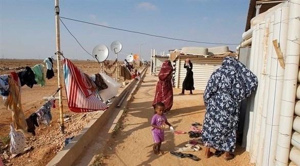 نازحون داخل ليبيا (أرشيف)