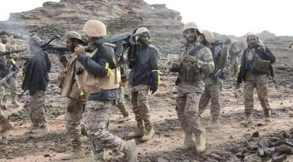 أفراد من قوات الجيش الوطني اليمني (أرشيف)