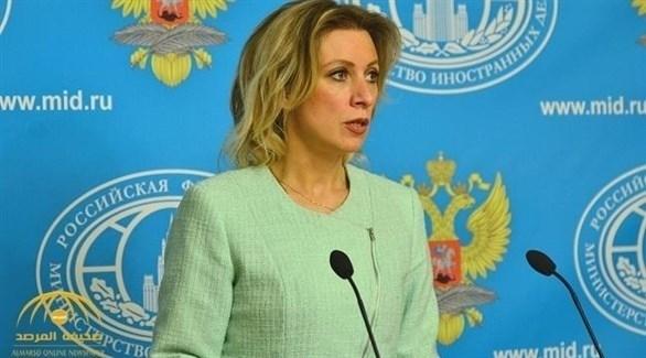 المتحدثة باسم وزارة الخارجية الروسية ماريا زاخاروفا (أرشيف)