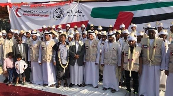 تنظيم الهلال الأحمر للأعراس في اليمن (أرشيف)