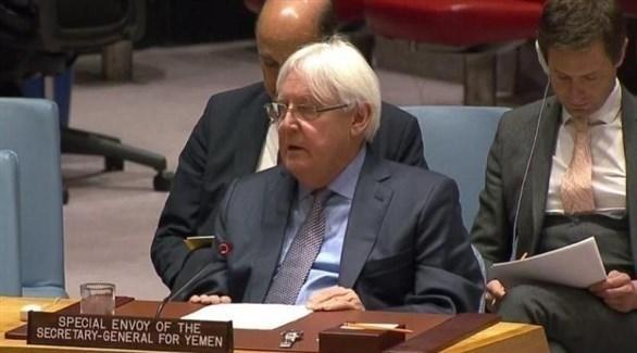 مبعوث الأمم المتحدة إلى اليمن مارتن غريفيث (المصدر)