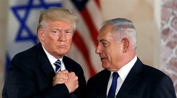 الرئيس الأمريكي دونالد ترامب ورئيس الوزراء الإسرائيلي بنيامين نتانياهو (أرشيف)