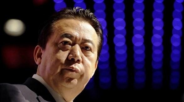 رئيس الإنتربول السابق الصيني مينغ هونجوي (أرشيف)