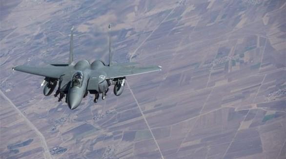 طائرة حربية تابعة للتحالف الدولي (أرشيف)