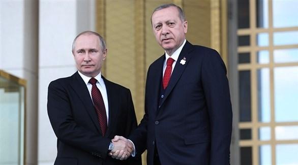 أردوغان وبوتين (أرشيف)