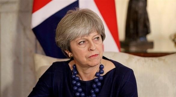 رئيسة الحكومة البريطانية تيريزا ماي (أرشيف)