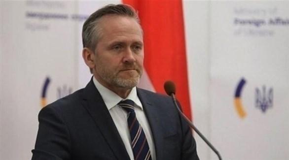 وزير الخارجية الدنماركي أندرس سامويلسين (أرشيف)