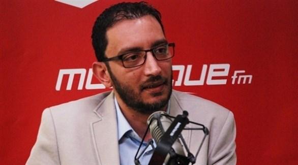 النائب البرلماني التونسي ياسين العياري (أرشيف)