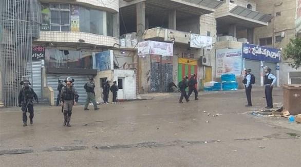 شرطة وجيش إسرائيلي في مخيم شعفاط (24)