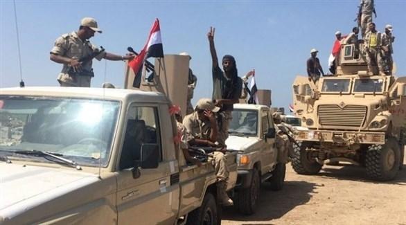 رتل عسكري للجيش اليمني (أرشيف)