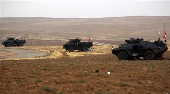 قوات عراقية قرب الحدود السورية (أرشيف)