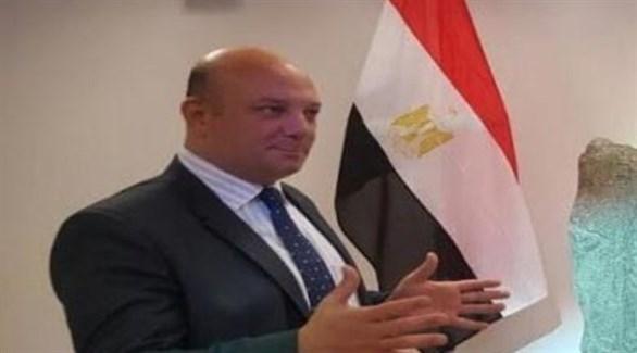 السفير المصري في سويسرا هشام سيف الدين (أرشيف)