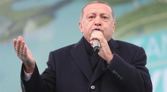 الرئيس التركي رجب طيب أردوغان (إ ب أ)