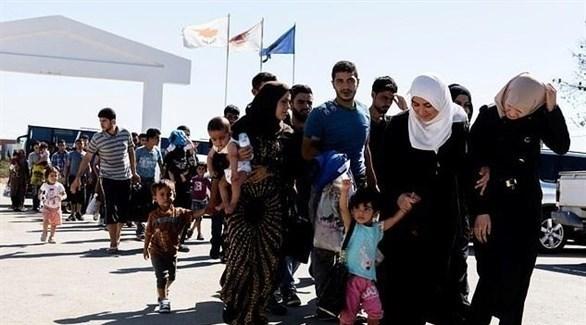 مهاجرون سوريون (أرشيف)