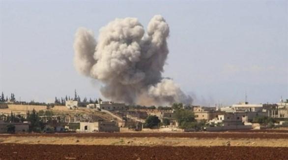 قصف سابق في سوريا (أرشيف)