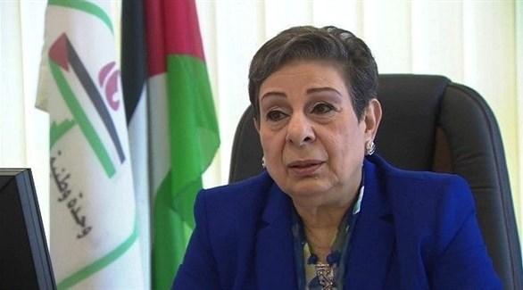 عضو اللجنة التنفيذية لمنظمة التحرير الفلسطينية حنان عشراوي (أرشيف)