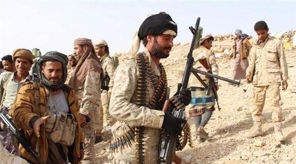 عناصر من قوات الجيش والمقاومة اليمنية (أرشيف)