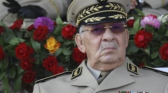 قائد أركان الجيش الجزائري الجنرال أحمد قايد صالح (أرشيف)