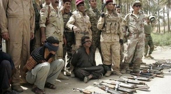 جيش عراقي خلال القبض على دواعش في سامراء (أرشيف)