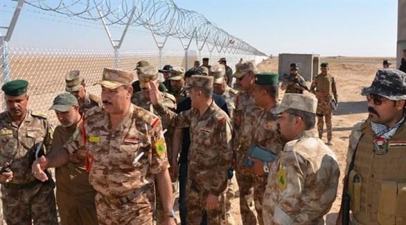 قوّات عراقية على الحدود مع سوريا (أرشيف)
