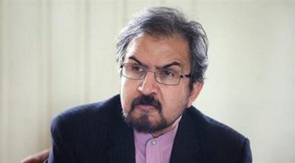 المتحدث باسم وزارة الخارجية الإيرانية، بهرام قاسمي (أرشيف)