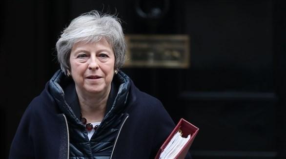 رئيسة وزراء بريطانيا تيريزا ماي  (أ ف ب)