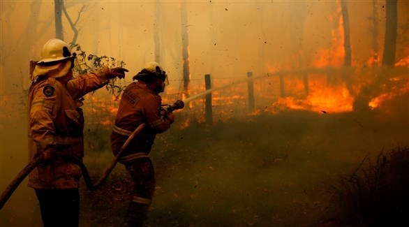 رجال الاطفاء في ولاية نيو ساوث ويلز (اي بي ايه)
