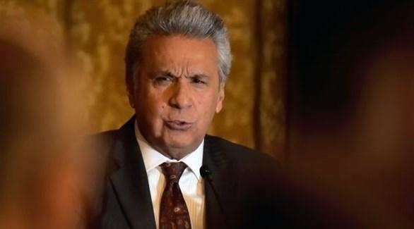 رئيس الإكوادور لينين مورينو (أرشيف)