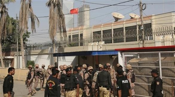 هجوم على قنصلية الصين في باكستان (أرشيف)