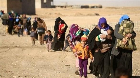نزوح أهالي الموصل إلى إقليم كردستان (أرشيف)