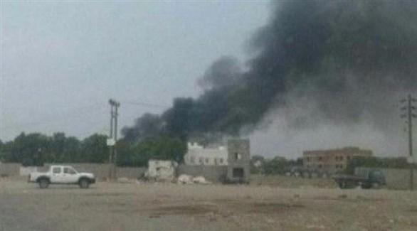 قصف حوثي على سوق بلدة المنظر بالحديدة (المشهد العربي)
