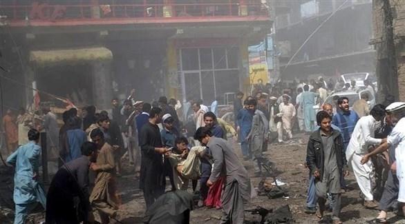 انفجار في باكستان (أرشيف)