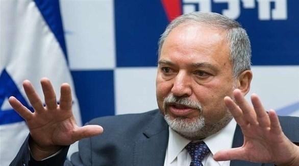 وزير الدفاع الإسرائيلي المستقيل أفيغدور ليبرمان (إرشيف)