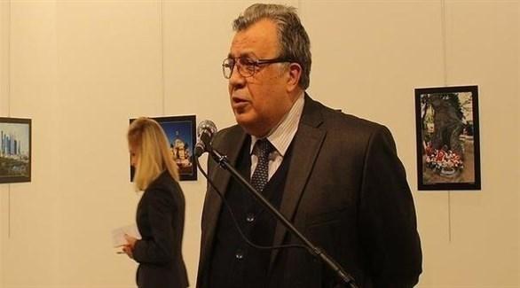 أندريه كارلوف، سفير روسيا لدى تركيا والذي قتل جراء هجوم مسلح في أنقرة (أرشيف)