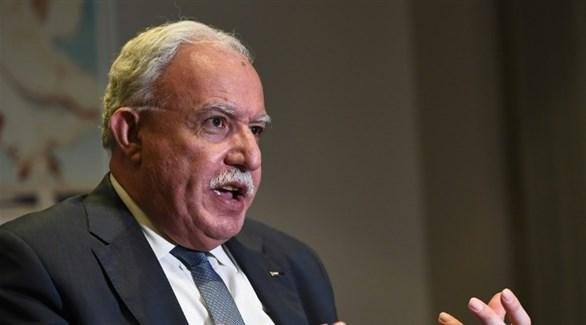 وزير الخارجية الفلسطيني، رياض المالكي (أرشيف)