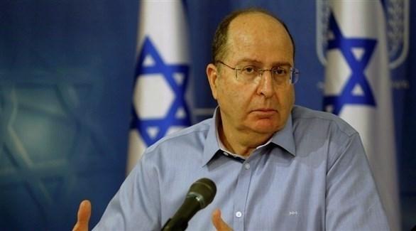 وزير الدفاع الإسرائيلي السابق موشيه يعلون (أرشيف)