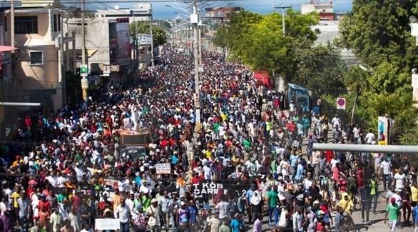 مظاهرات في هايتي (أرشيف)