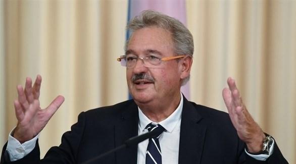 وزير خارجية لوكسمبورغ، جان أسيلبورن (أرشيف)