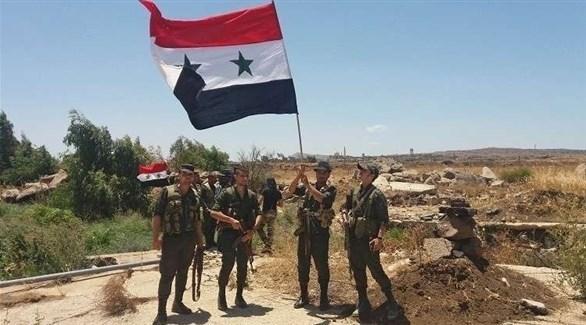 جنود من الجيش السوري النظامي في اللاذقية (أرشيف)