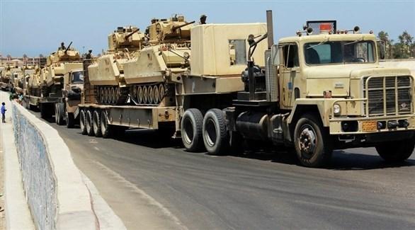 رتل عسكري من الجيش الليبي (أرشيف)