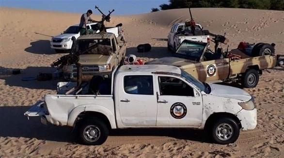 عناصر من قوات التدخل السريع الليبية (تويتر)
