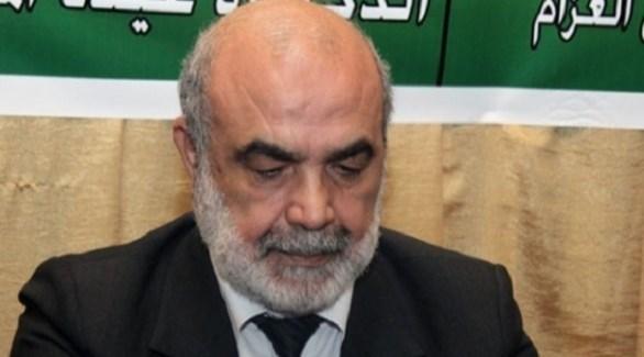 رئيس مجلس الشورى في حزب جبهة العمل الاسلامي عبد المحسن العزام (أرشيف)