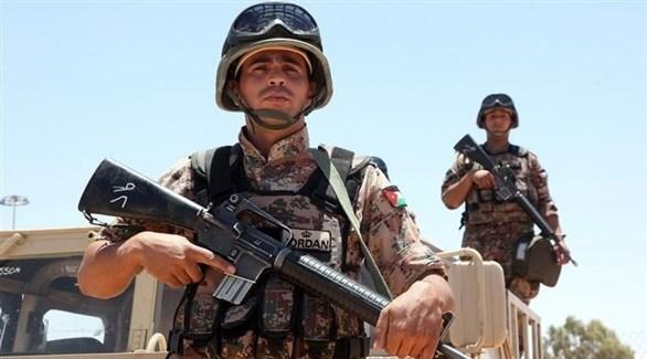 عناصر من حرس الحدود الأردني (أرشيف)